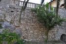 Terrace stone wall