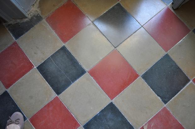 Original floor tiles