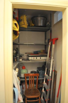 Kitchen storage room