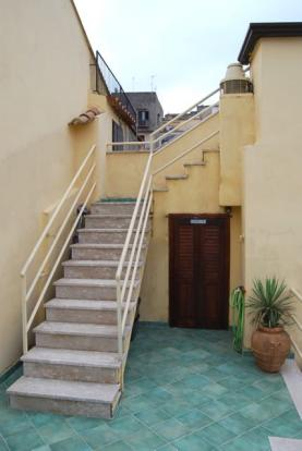 Terrace stairs