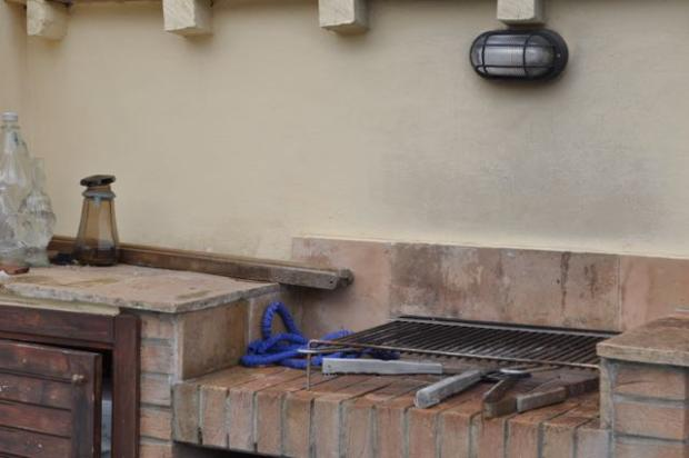 BBQ on upper terrace