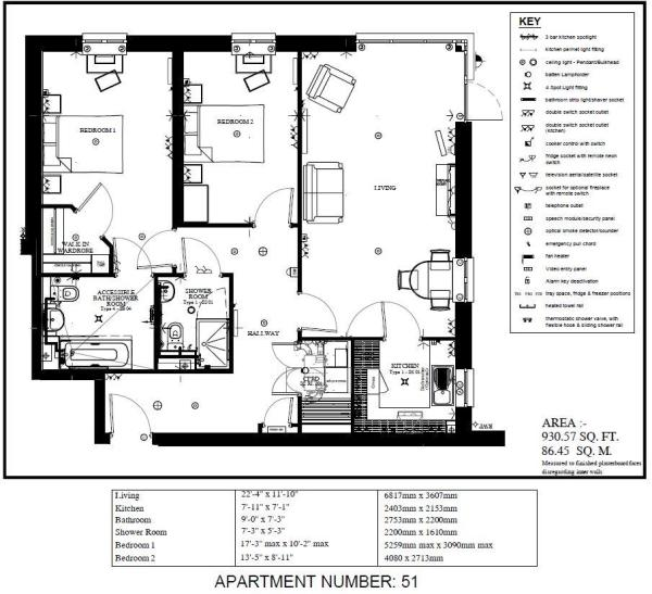 apartment 51 floorpl