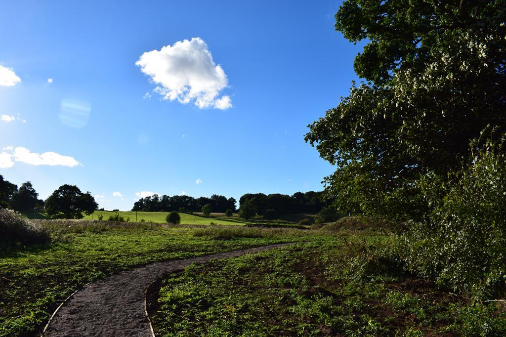 Beautiful rolling hillside next to the development