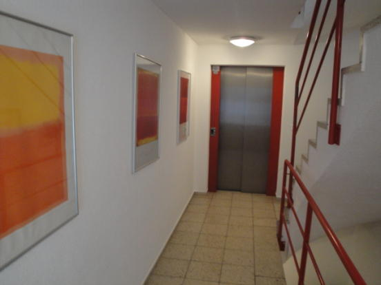 Communal hall,lift