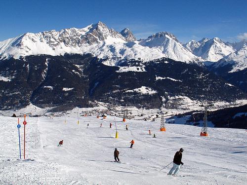 Lower slopes Savogni