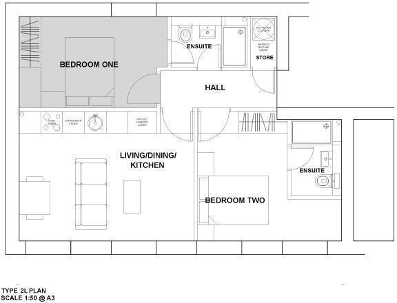 Apartment Type 2L
