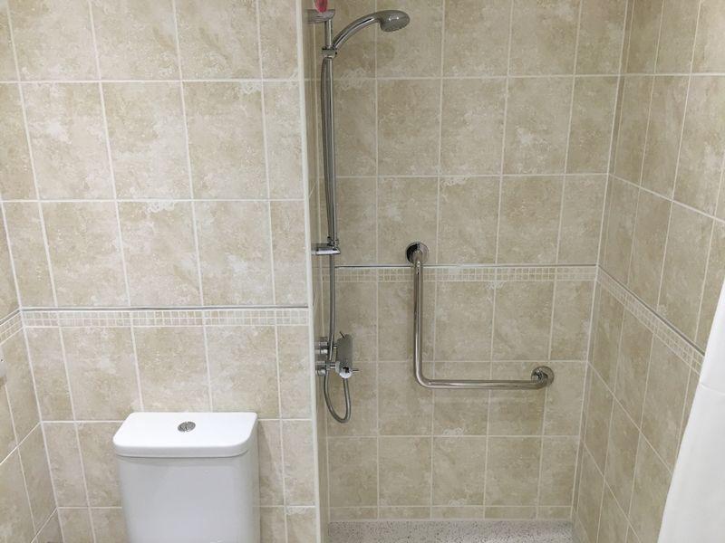 Wet-room shower