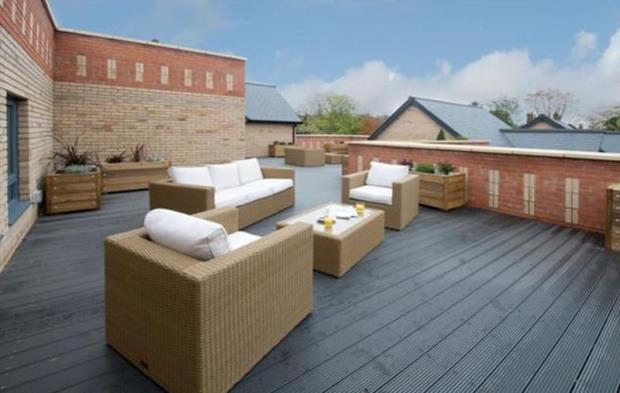 Communal roof ...
