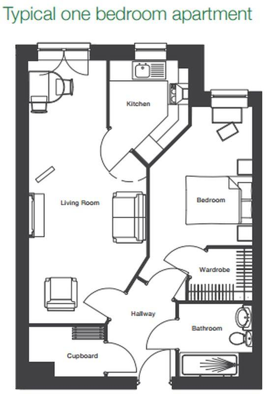 One bed floor ...