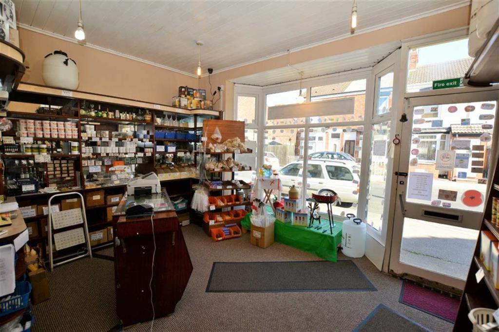 Front Shop Area