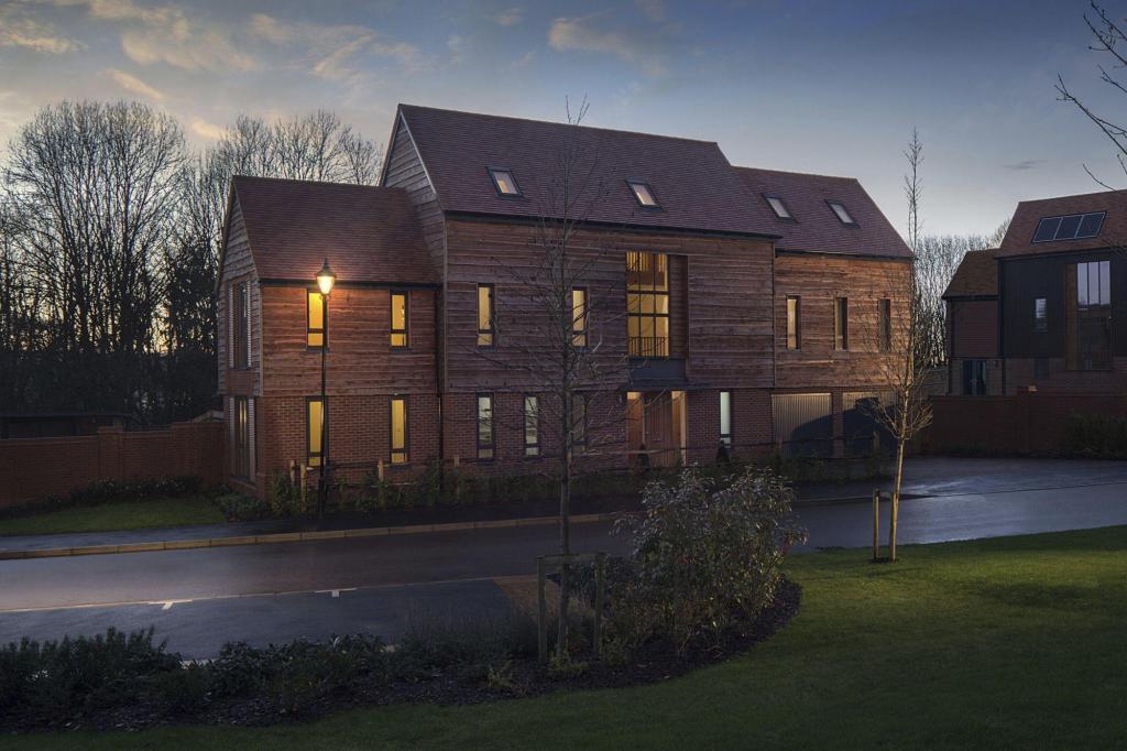 Wellsborough 5 bedroom home external dusk shot