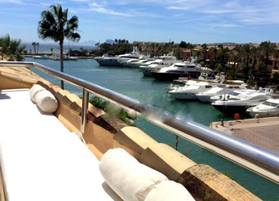 Marina from terrace
