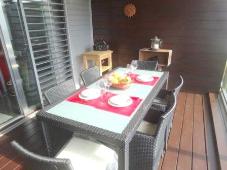 Terrace decking