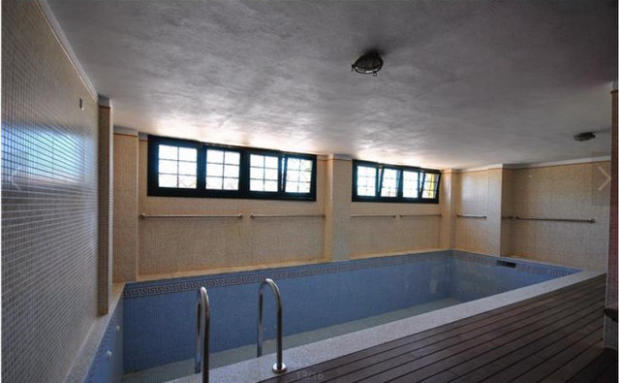 Indoor pool with say