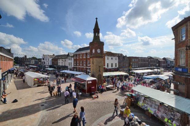 Ormskirk market day