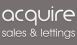 Acquire Properties, Burton - Sales