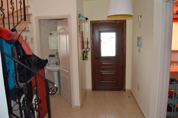 Entrance door + hall