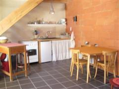 Guest house, kitchen