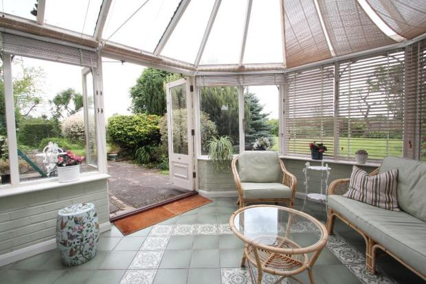 Conservatory off the Lounge
