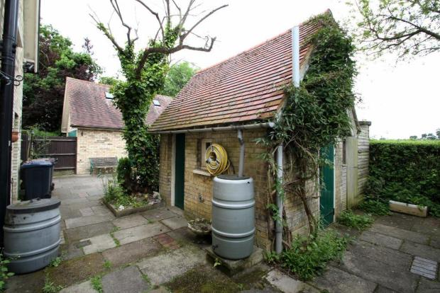 A useful outbuilding with potential