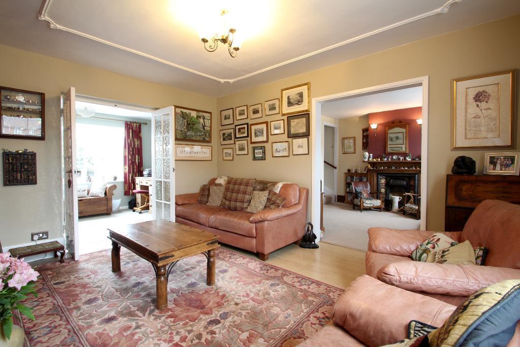 Lounge, doors to Study & Sitting Room
