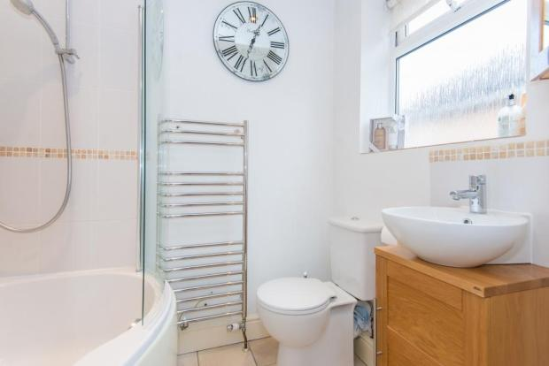 Bed 1 Ensuite Bathroom with shower