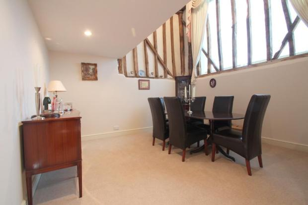 Part vaulted Dining Room