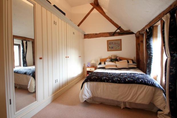 13'10 x 10' Bedroom 2 with wardrobes