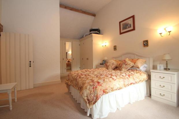 Main Bedroom showing wardrobes