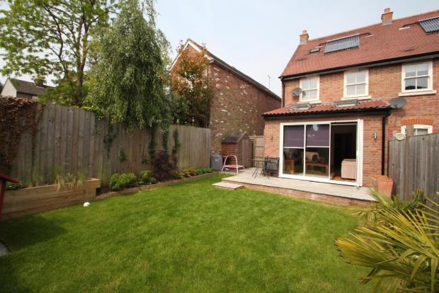 Extended rear of house with bifold doors