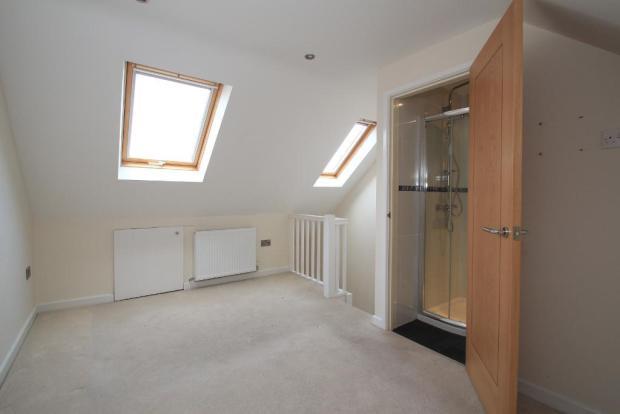 Top floor bedroom with ensuite