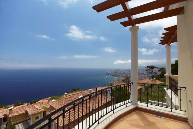 Pergoled terrace