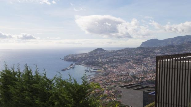 Ocean and city views