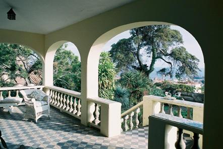South-west terrace