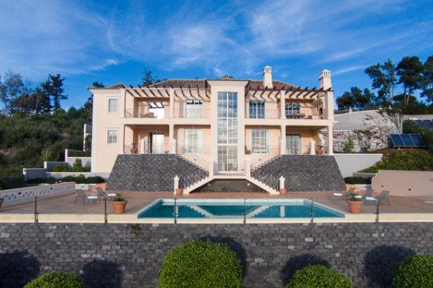 Front elevation pool