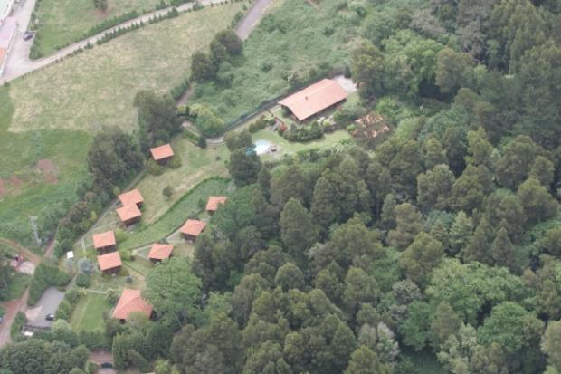 Complete aerial view