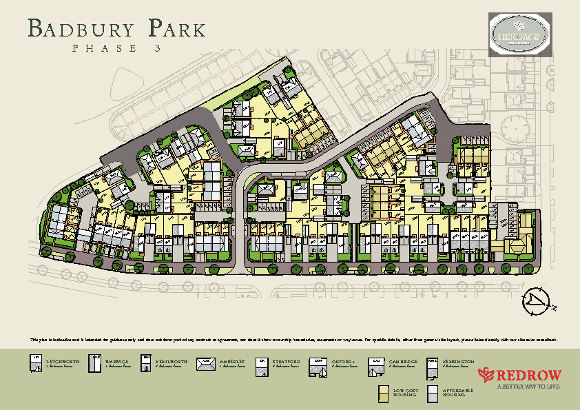 badbury park new homes development by redrow homes