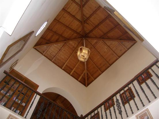 voulted ceiling hall