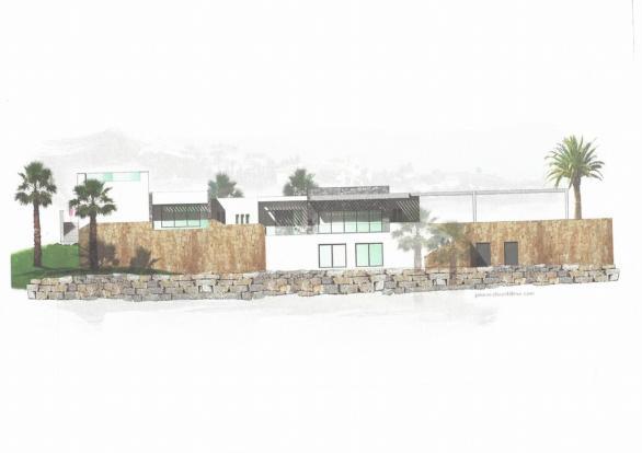 modern type villa pr