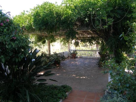 gardens and terrace