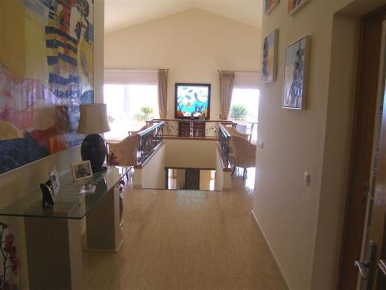 hallway to lounge &