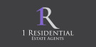1 Residential Estate Agents, London branch logo