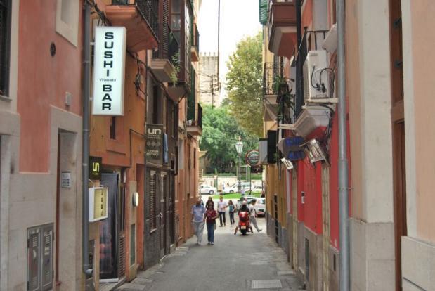 La Lonja street