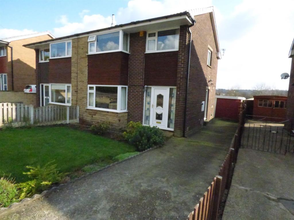 3 bedroom semi-detached house for sale - Listerdale, Liversedge, WF15 6EN