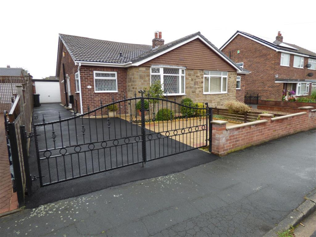 2 bedroom semi-detached bungalow for sale - Sunny Bank Avenue, Mirfield, WF14 0NG