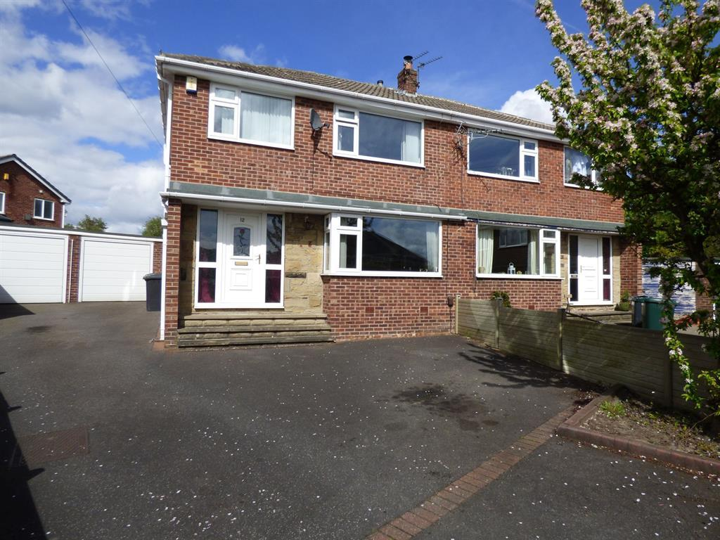 3 bedroom semi-detached house for sale - Crossley Grove, Mirfield, WF14 0JX