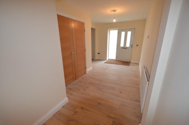 Hallway to door