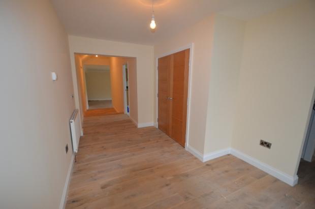 Hallway from door