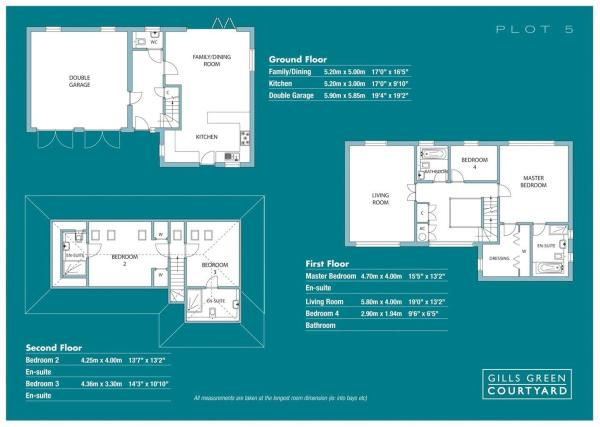 No 5 Floorplan