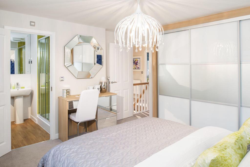 Milford master bedroom